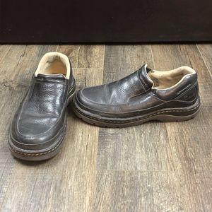 Dr. Martens Black Slip On Shoes   size 9 USM